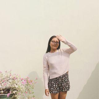 COLORBOX Knit Sweater Cream