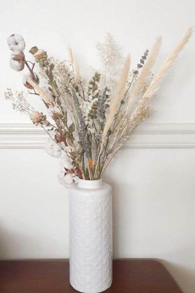 Elegant Dried Flowers In A Large Vase Gardening Flowers Plants On Carousell
