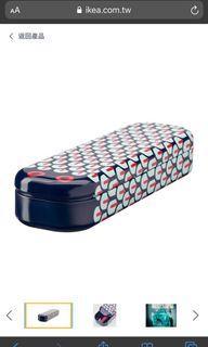 ILLBATTING Ikea 鉛筆盒 鉛筆袋, 彩色/蛇造型 金屬