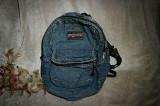Jansport Denim Blue Backpack (Original)