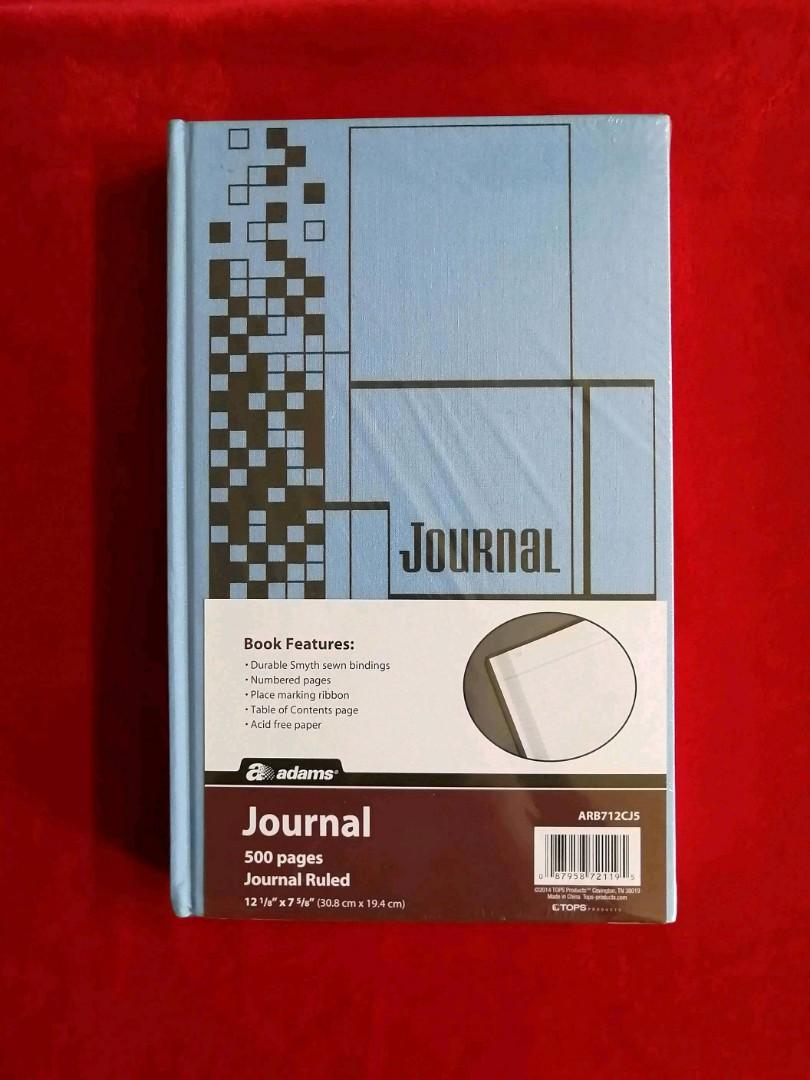 Large hardcover journal
