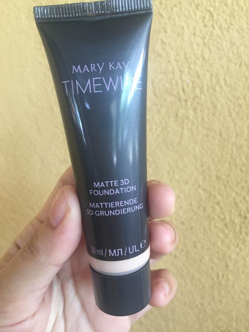 Mary Kay Timewise Matte 3d Foundation Health Beauty Makeup On