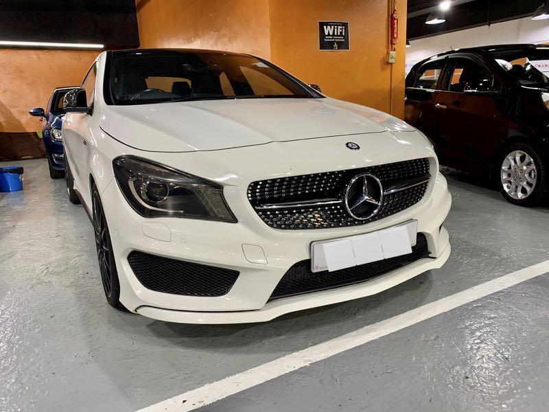 Mercedes-Benz CLA250 (A)