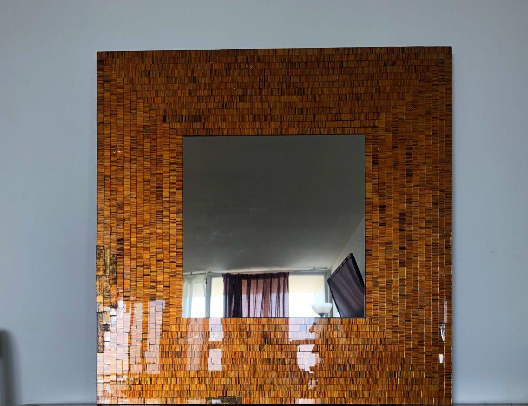 Mosaic mirror made in Indonesia