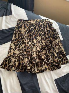 NEW Cheetah Print Skirt