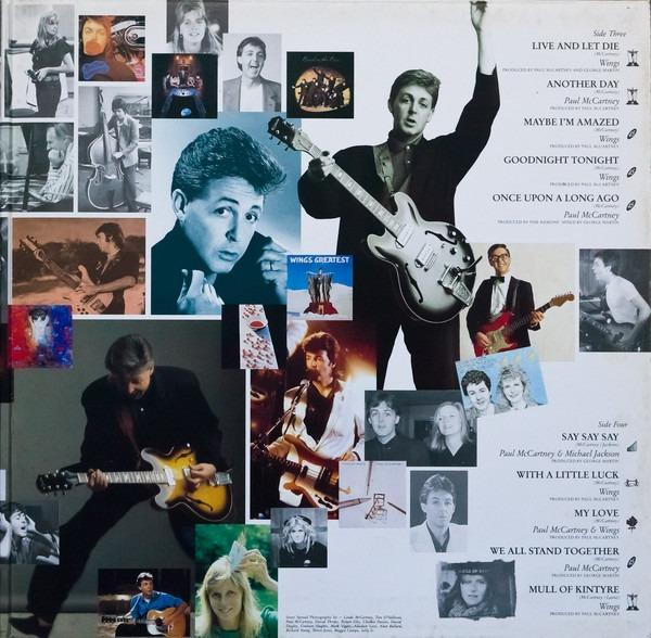 Paul McCartney ‎– All The Best 2 × Vinyl, LP, Compilation, Music & Media,  CDs, DVDs & Other Media on Carousell