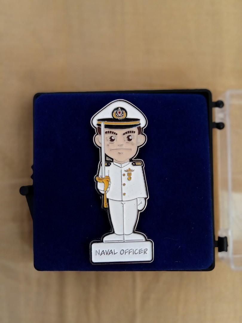 Pin Naval Officer