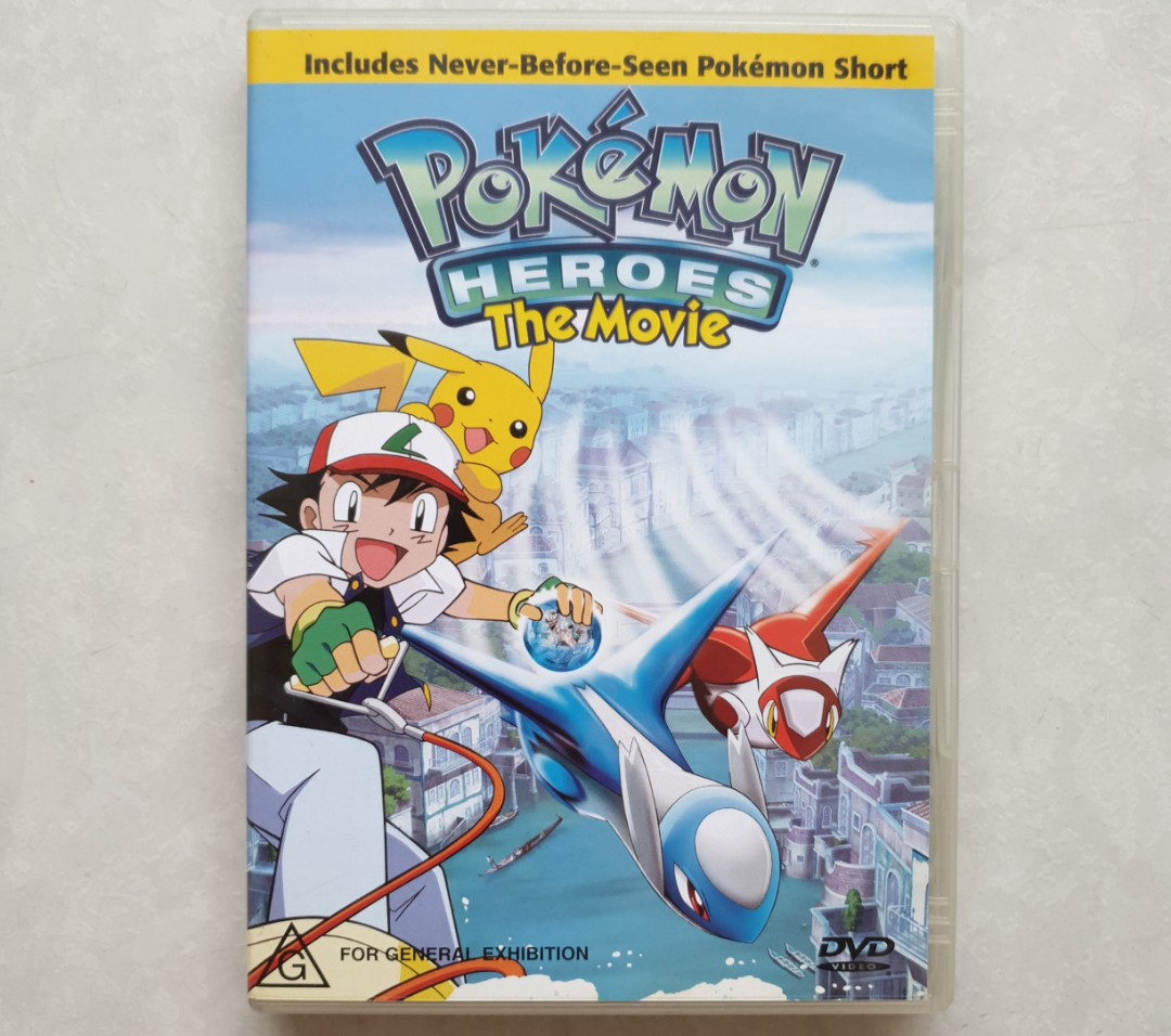 Pokemon Heroes The Movie Dvd Rare Music Media Cds Dvds Other Media On Carousell