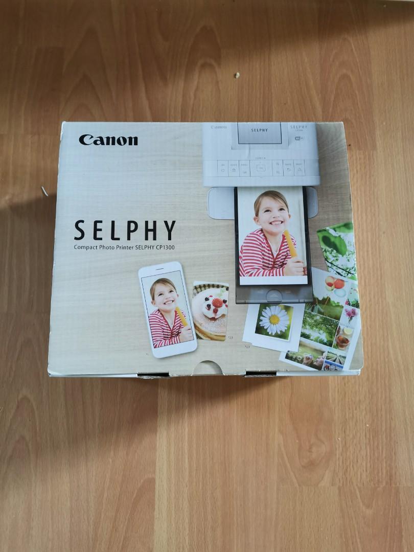 Selphy CP1300 photo printer