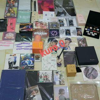 SNSD, SUPER JUNIOR, BTS, WANNA ONE, RED VELVET, INFINITE album dan goods official