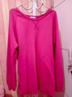 #Ramadansale Sweater pink belel (crewneck)