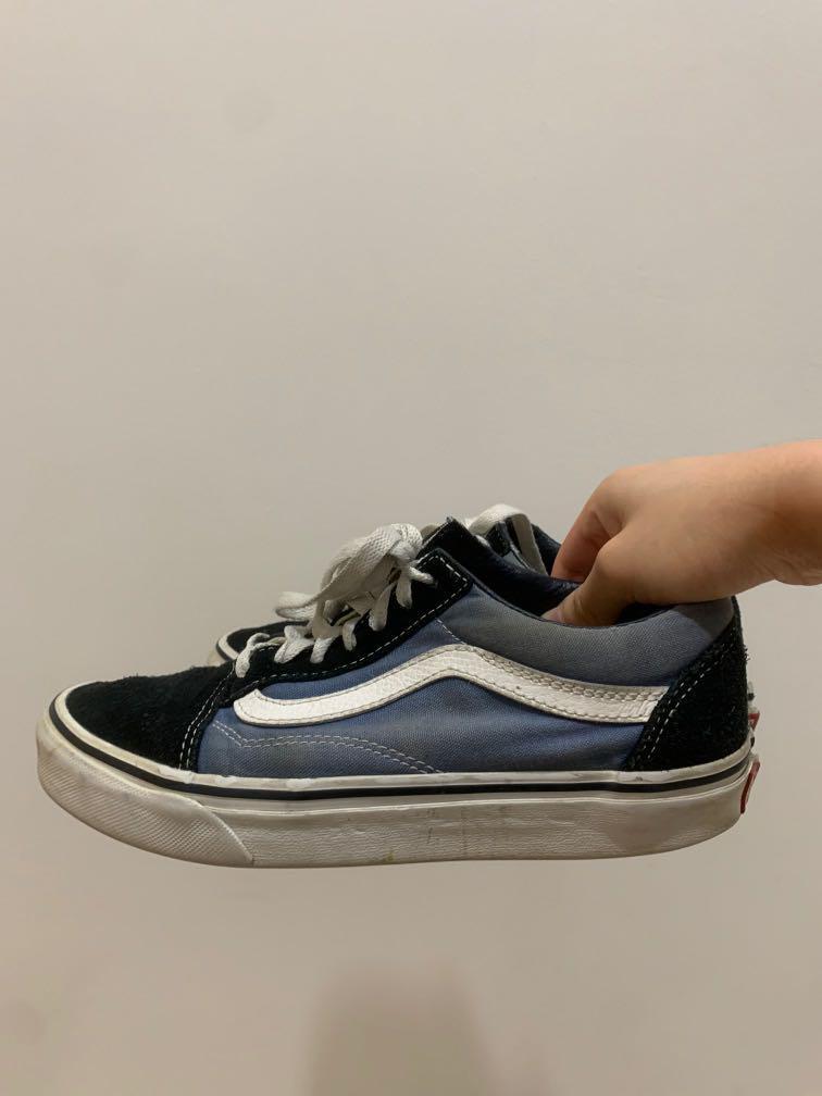 Vans Old Skool Navy / Black and Blue