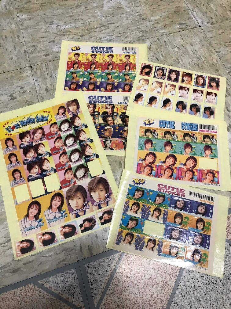 包郵酒井法子yes sticker 貼紙 yes card yescard yes
