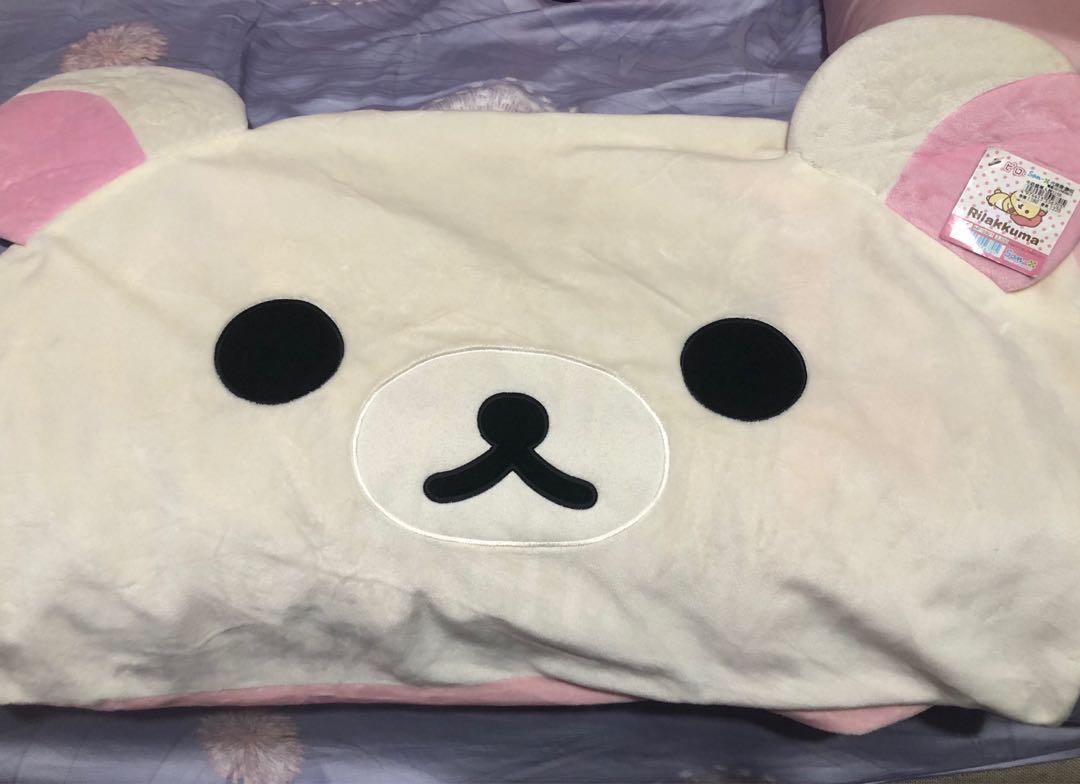 拉拉熊 日本正品枕頭套 懶妹