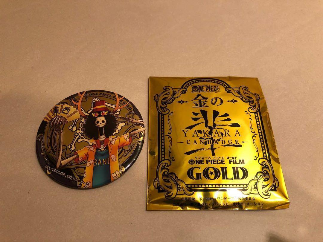 海賊王 台中航海王主題館 日本正版限量福袋 布魯克徽章