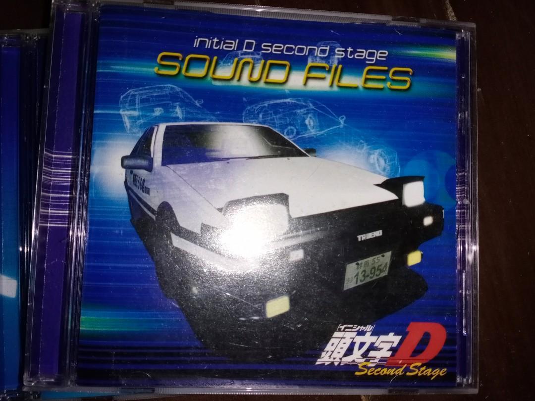 頭文字 d 第二季 cd