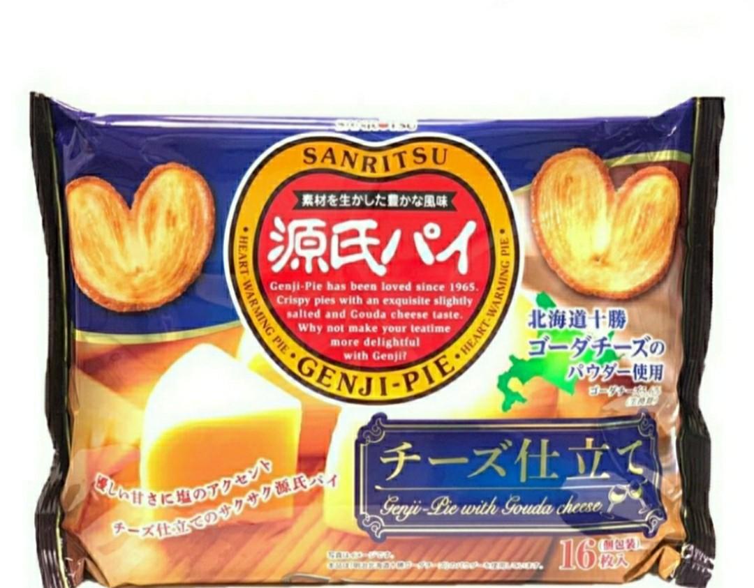 日本 SANRITSU三立製菓 源氏派餅 起司口味/1包/136g