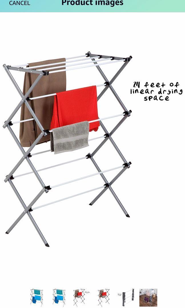BNIB Honey Can Do foldable drying rack (DRY-01306)
