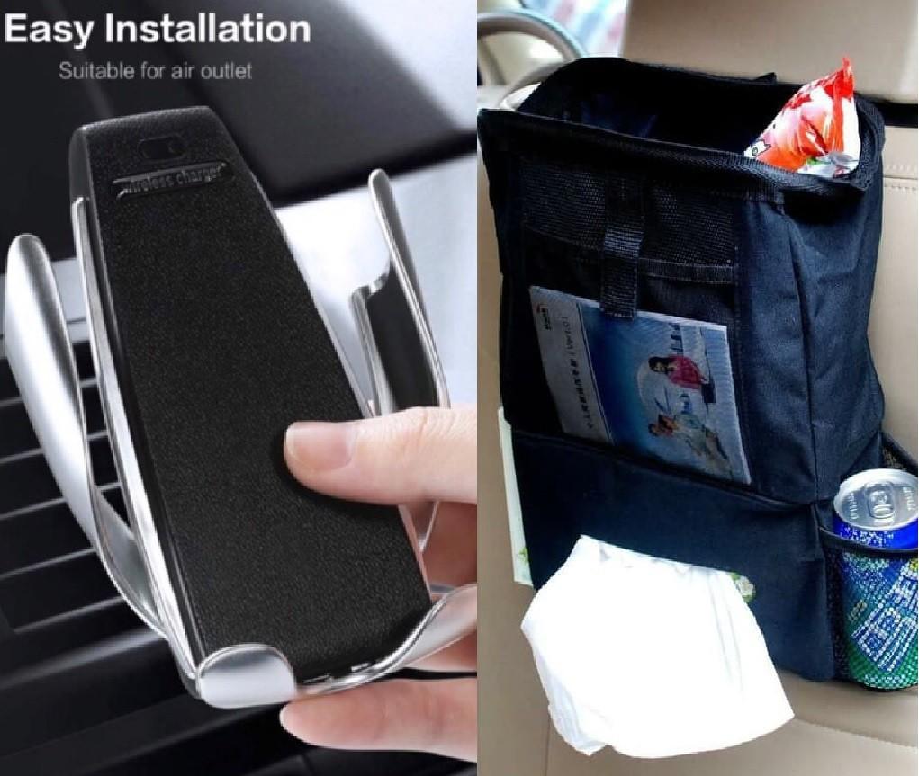 Bundling Wireless Car Charger S5 + Car seat organizer