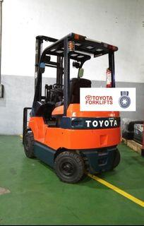 CERTIFIED USED (Silver)Toyota Electric Forklift 1.8 tons 7FB18 Electric Forklift