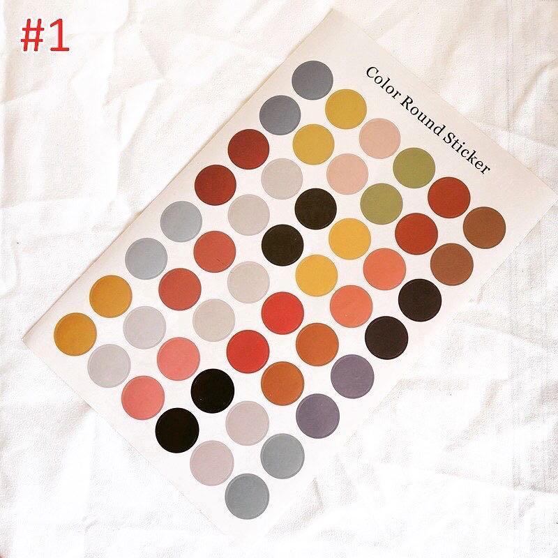 Colorful Dot Sticker Set