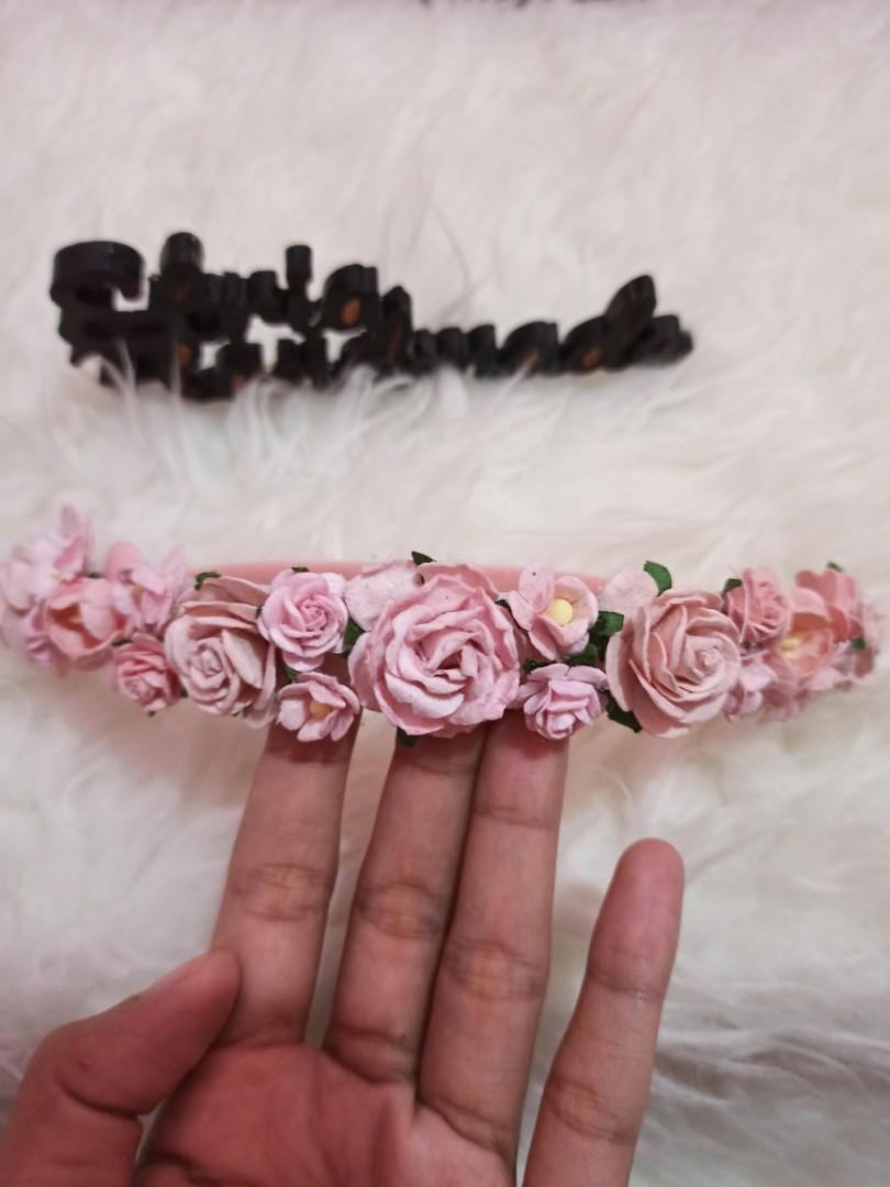 Flower Crown Headband Baby Handmade