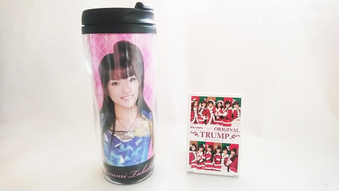 JAPAN IDOL GROUP-AKB48:POKER CARD+MINAMI TAKAHASHI TUMBLE-souvenir(100% official original)