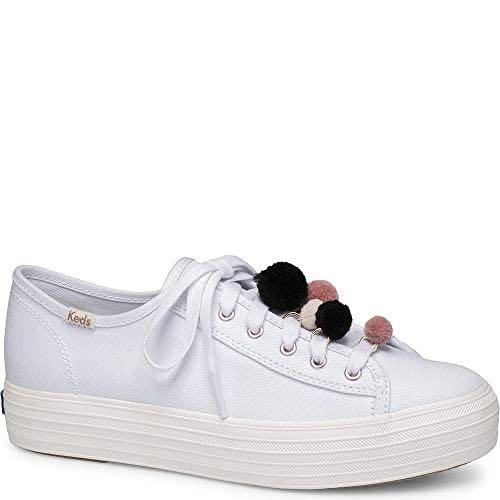 Keds Triple Kick Pom Pom Sneakers