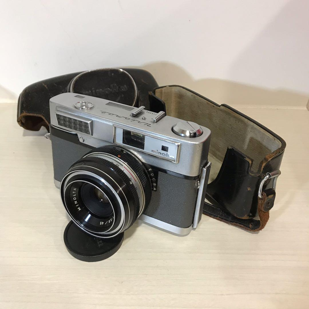 minolta uniomat 可對焦底片相機