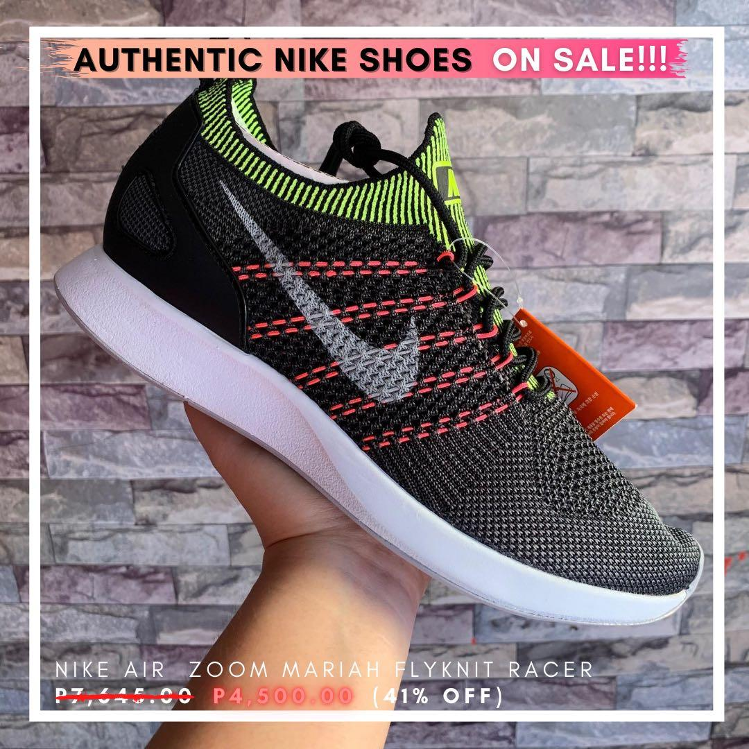músico Inspeccionar Descuido  1K OFF‼️ Nike Air Zoom Mariah Flyknit Racer, Men's Fashion, Footwear,  Sneakers on Carousell