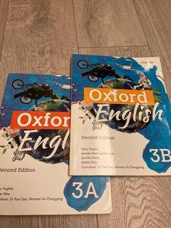 Oxford English 3A and 3B