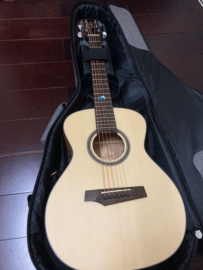 Randon rg-14 mini旅行吉他(9.9成新)加裝貼片式拾音器