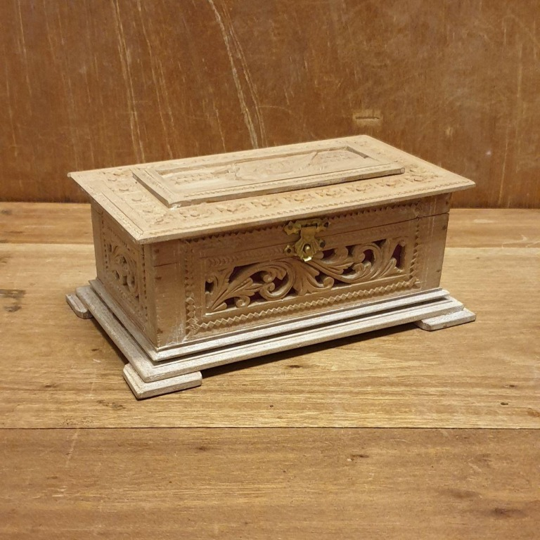 Small Wooden Box From India Home Furniture Home Decor On Carousell