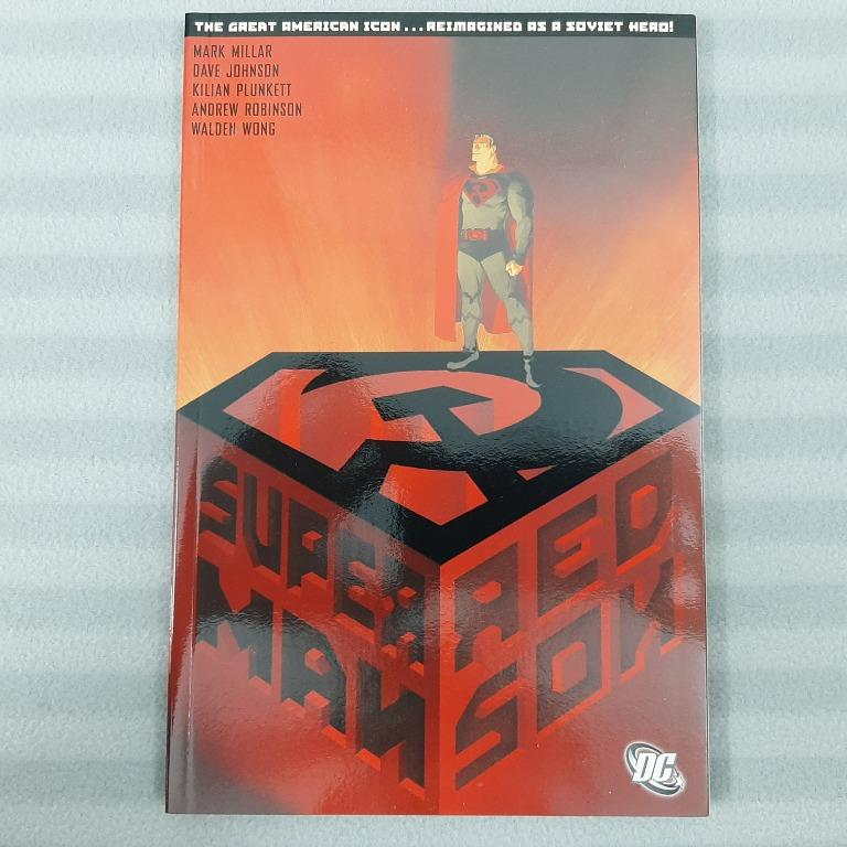 Superman Red Son Tpb Dc Comics First Edition 4th Printing Hard To Find Mark Millar Books Stationery Comics Manga On Carousell