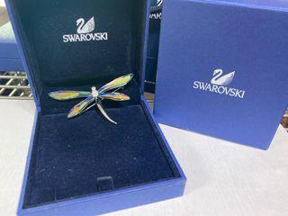 Swarovski 蜻蜓胸針