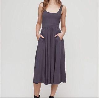 Wilfred assonance dress size xs aritzia