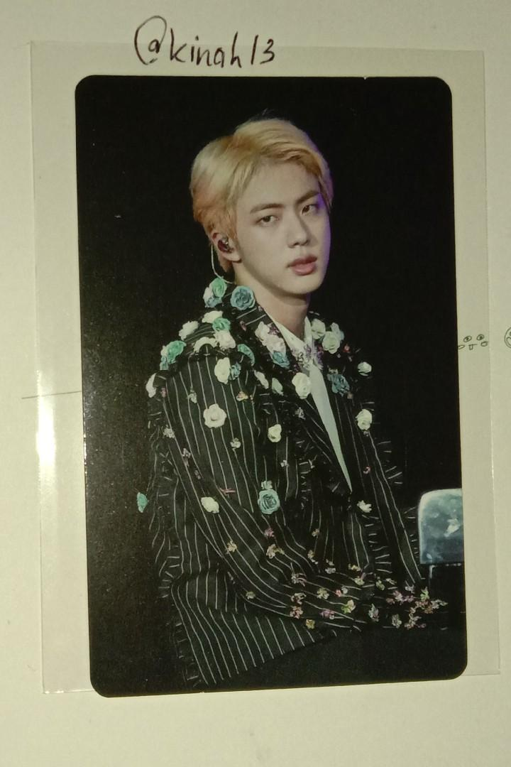 Wtt Want To Trade Bts Jin Love Yourself World Tour In Seoul K Wave On Carousell