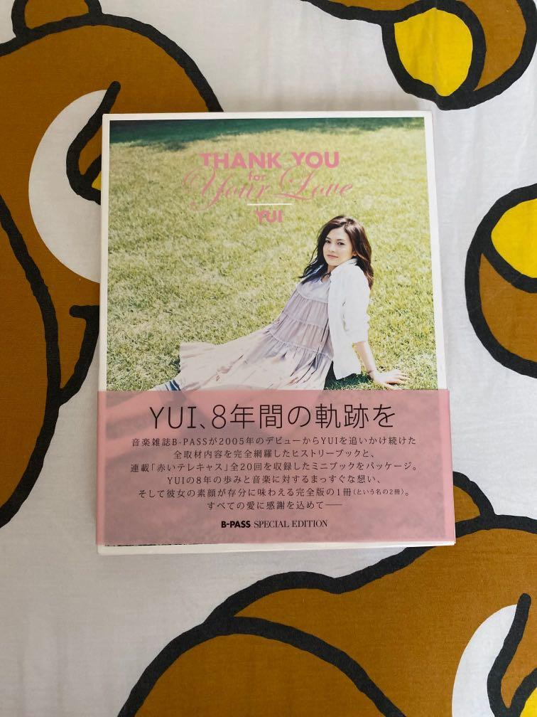 YUI special edition 写真 thank you for your love