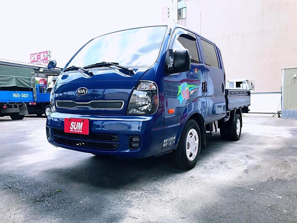 卡旺貨車~ 2014 KIA 卡旺 雙廂 、6人座