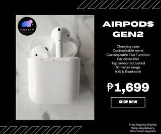 Apple Airpods 2 Audio Carousell Philippines