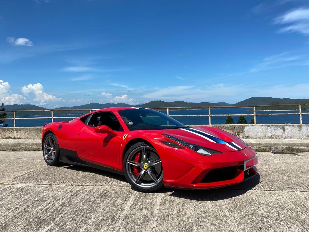 Ferrari 458 4.5 Speciale (A)
