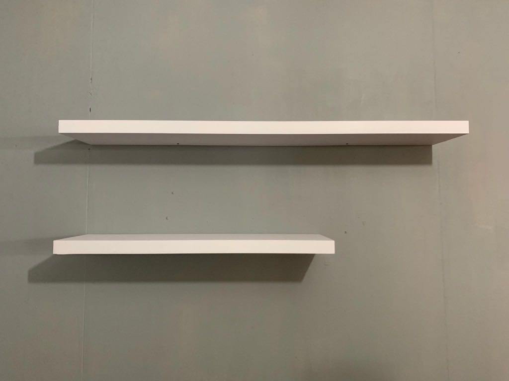 Floating Shelves Home Furniture Furniture Fixtures Shelves Drawers On Carousell