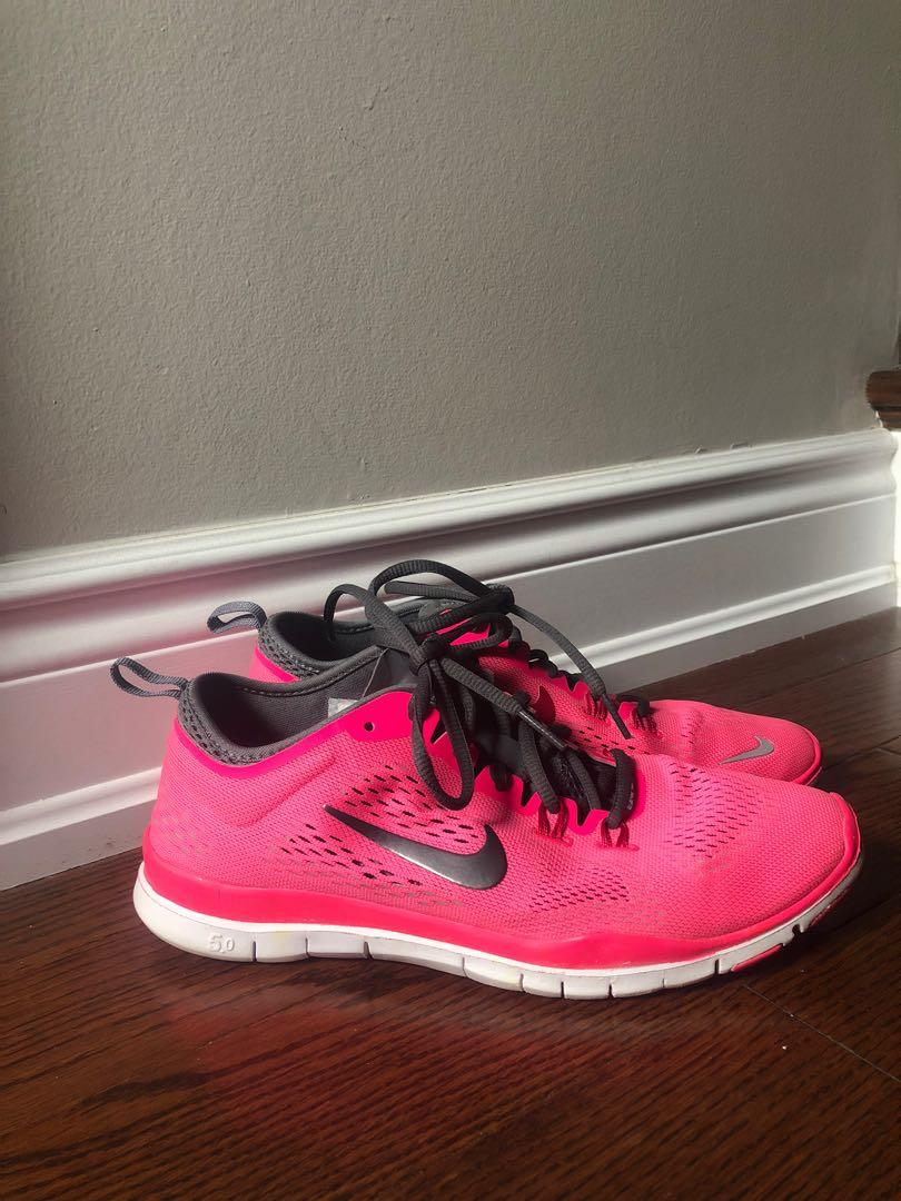 Hot Pink Nike Free