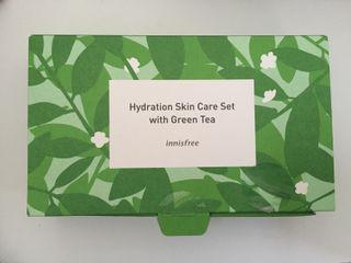 Innisfree Hydration Skincare Set with  Green Tea
