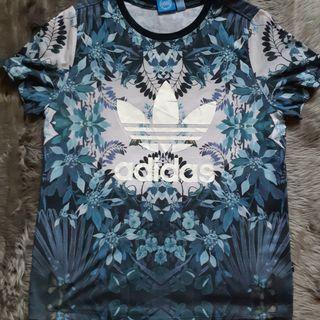 Kaos Adidas Tee Floral T-Shirt