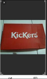Kickers shoes beige 36 Turun Harga