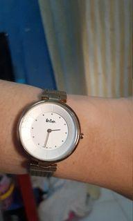 Lee cooper watch jam tangan wanita water resist