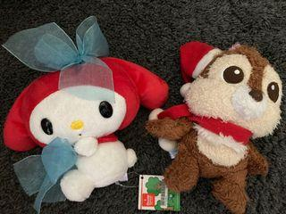 Melody and Dale Soft toys