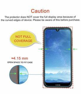 Nokia 4.2 透明鋼化防爆玻璃 保護貼 9H Hardness HD Clear Tempered Glass Screen Protector (包除塵淸㓗套裝)(Clearing Set Included)