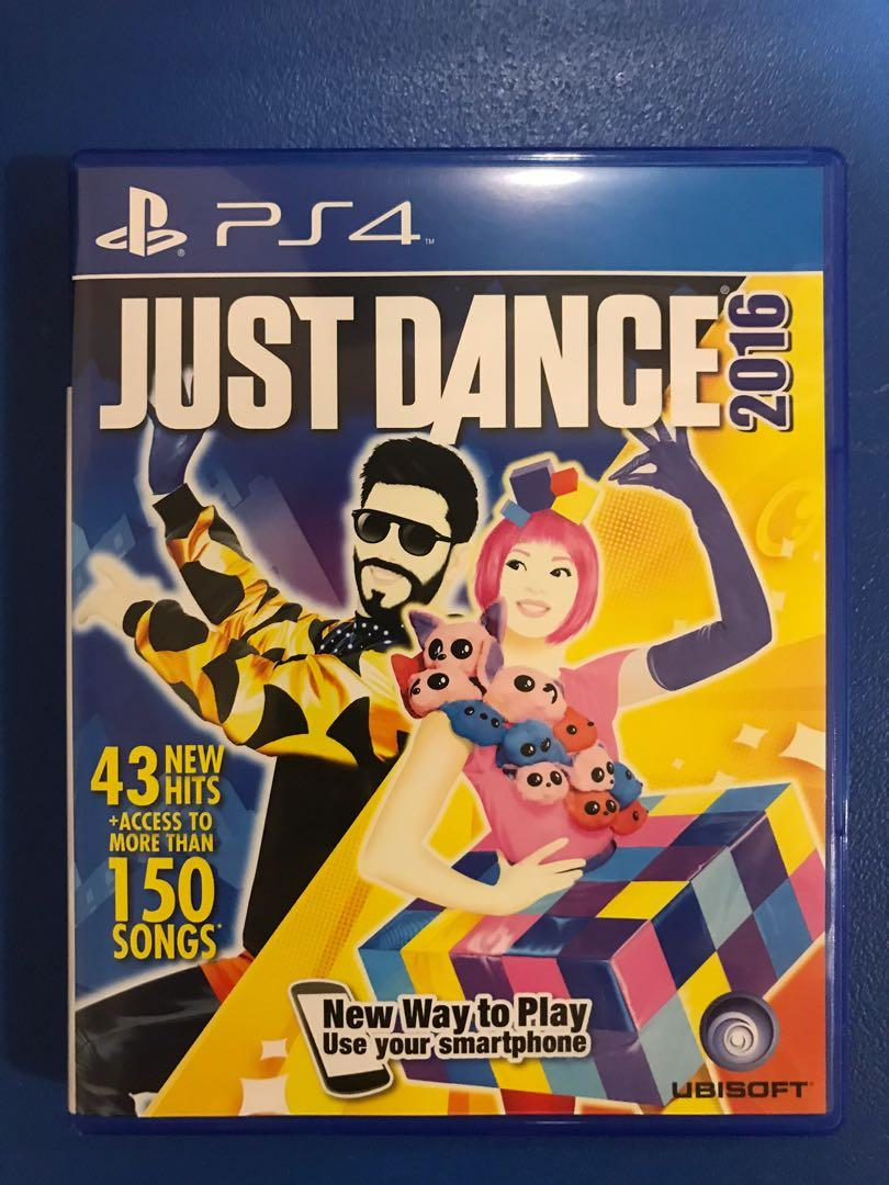 PS4 Game: Just Dance 2016